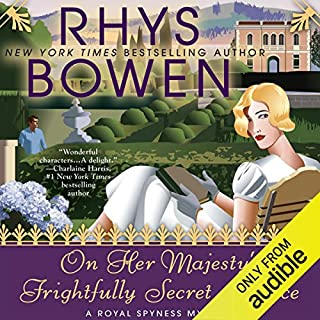 On Her Majesty's Frightfully Secret Service audiobook cover art