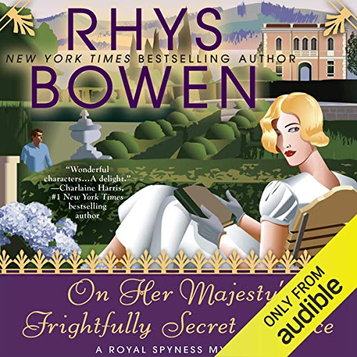Page de couverture de On Her Majesty's Frightfully Secret Service