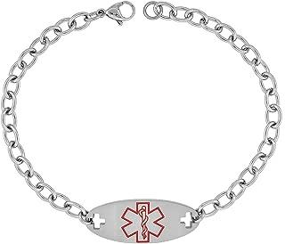 Best medical id anklet bracelets Reviews