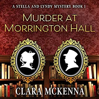 Murder at Morrington Hall audiobook cover art