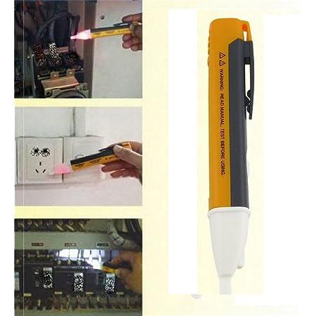 1pc AC Voltage Tester Pen Non-Contact Volt Alert Sensor Detector Stick 90-1000V