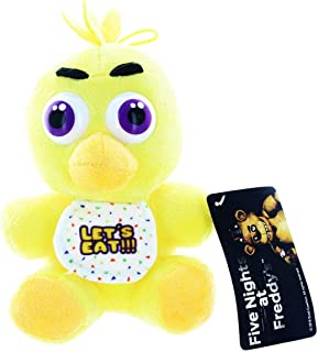 Chica Five Nights at Freddys Collectible Plush 10 Inch