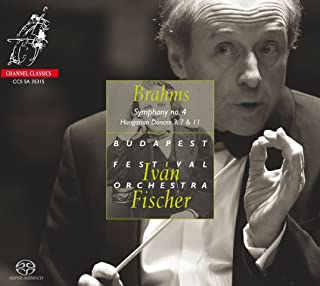 Brahms: Symphony No.4, Hungarian Dances Nos.3, 7 & 11