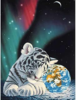 ZYQZYQ Rompecabezas de Madera 1000 Piezas para Adultos Pintura Animal Tiger Planet Imagen s Juego de descompresión desafío Cerebral dificultad Juguete Educativo