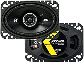 "Kicker 43DSC4604 4x6"" 2-way Speaker Pair"