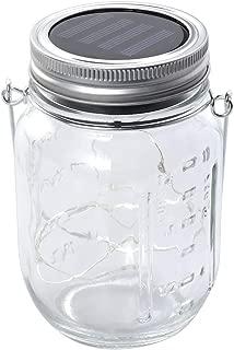 Mobestech Solar Mason jar lid Lights led String Fairy Lights Solar laterns Table Lights