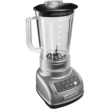 KitchenAid KSB1570SL 5-Speed Blender with 56-Ounce BPA-Free Pitcher - Silver