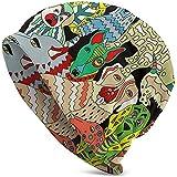 Resumen Jadeo Informal Gorro Casual Sombrero de Calavera Sombrero Orejeras Sombrero Sombrero de cúpula Sombreros