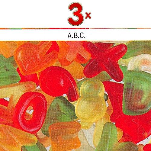 Haribo Lettre A.B.C. 1 x 3kg Packung (Fruchtgummi als Buchstaben)