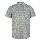 O'Neill Lm Taghazout S/Slv Shirt, Camiseta para Hombre, Verde (6900 Green AOP), XXL
