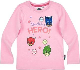 Sweat Shirt Rose Pyjamasques Pull Fille