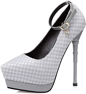Ying-xinguang Shoes Fashion Sexy Pointed Stiletto Rhinestone Shoes Women's High-Heeled Shoes Comfortable