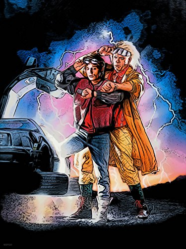 Back to the Future 2 Poster Art Print 30 x 40cm