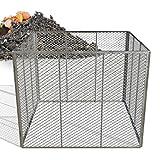 Heimfleiss® Metallkomposter 100x100x80 cm |...