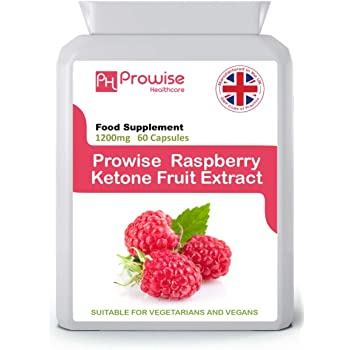 Raspberry Fruit Extract 1200mg 60 Capsules Uk Manufactured Gmp Standards By Prowise Healthcare Amazon Co Uk Health Personal Care