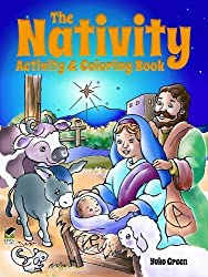 The Nativity Activity and Coloring Book (Dover Holiday Coloring Book)