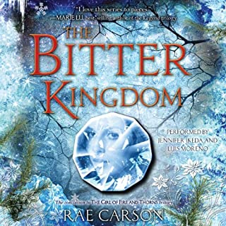 The Bitter Kingdom audiobook cover art