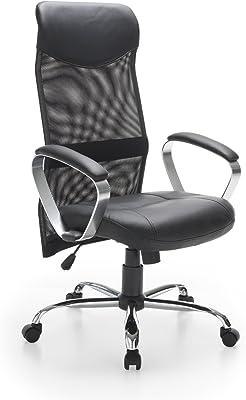 Easychair Markesa - Sedia padronale dal Design Esclusivo, Colore: Nero