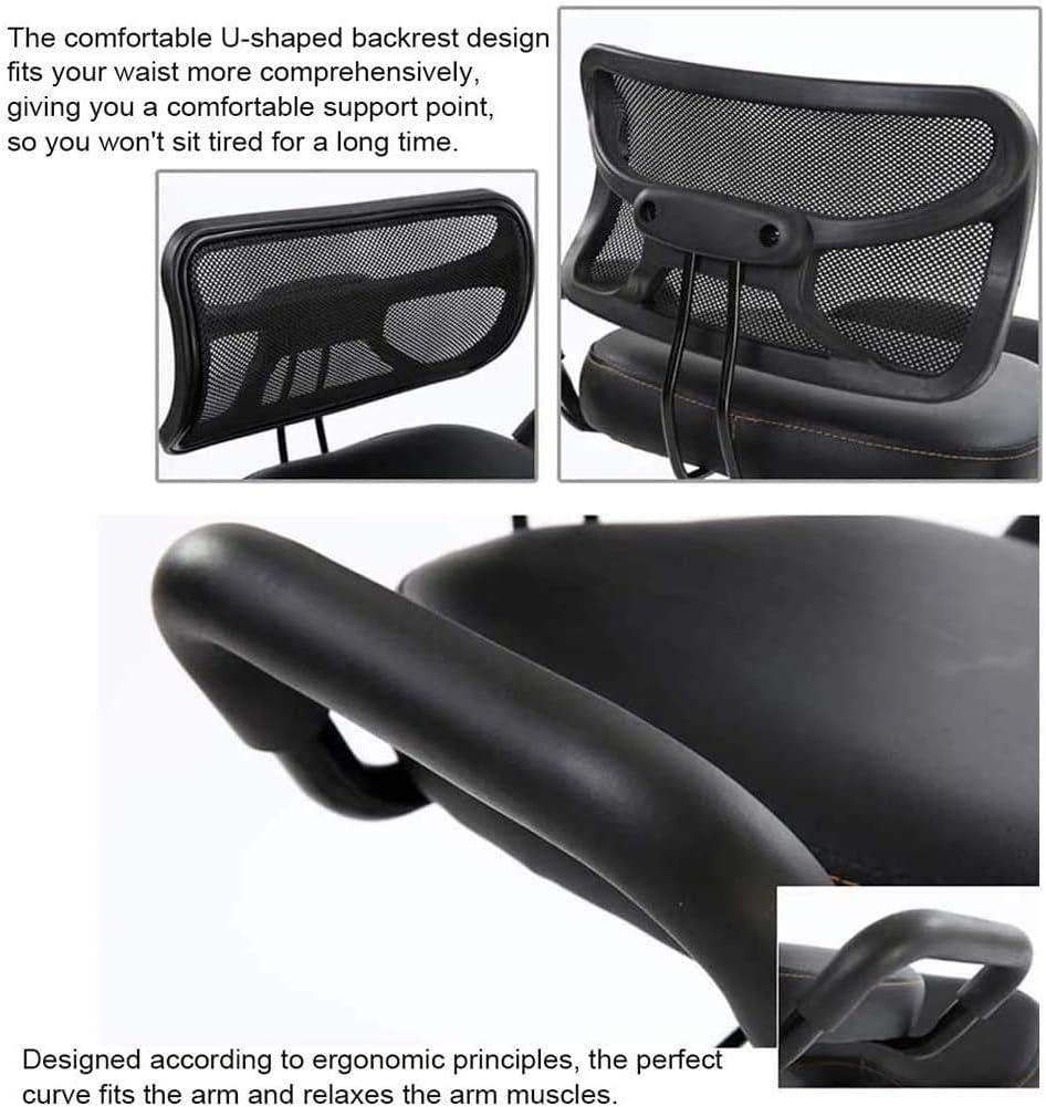 SMLZV Genoux Chaise, Dossier ergonomique Genoux Chaise, Bureau Tabouret Chaise Posture Chaise de bureau Correction for Back Pain Relief, for adultes/enfants (Color : D) C