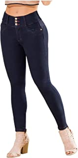 Womens Butt Lifter Skinny Colombian Jeans Colombianos Levanta Cola Mujer