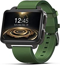 Smart Watch Pantalla OLED de 2,2 pulgadas, NFC Pagos, Google Assistant, Wear OS por Google Android Wear 2.0, compatible con iOS y Android