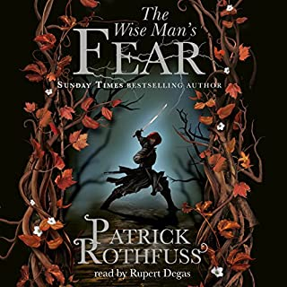 The Wise Man's Fear     The Kingkiller Chronicle: Book 2              By:                                                                                                                                 Patrick Rothfuss                               Narrated by:                                                                                                                                 Rupert Degas                      Length: 42 hrs and 49 mins     2,486 ratings     Overall 4.8