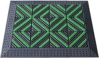 JIAJUAN Outdoor Doormat Front Door Entryway Mat Non-Slip Durable Gray Dirt Trapper Floor Mats Washable (Color : B, Size : ...