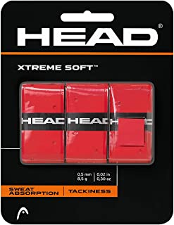 HEAD Xtreme Soft Racquet Overgrip - Tennis Racket Grip Tape - 3-Pack