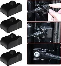 Car Door Stopper Cover For Volkswagen Jetta Tiguan Passat Golf CC Car-styling PP Plastic Door Lock Arm Protecter Waterproof Dustproof Cover 4Pcs