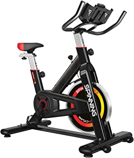 gridinlux. Bicicleta de Spinning. Pantalla LCD, Pulsómetro