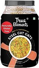 True Elements Steel Cut Oats 2kg - Gluten Free Oats, Breakfast Cereal, Diet Food, Oats 2kg