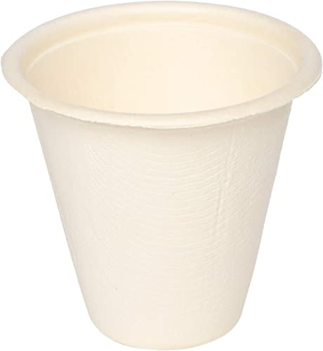 ECOWARE:100% Natural, Biodegradable, Compostable, Ecofriendly, Safe & Hygienic Disposable 220 ml Tea, Coffee, Water C...
