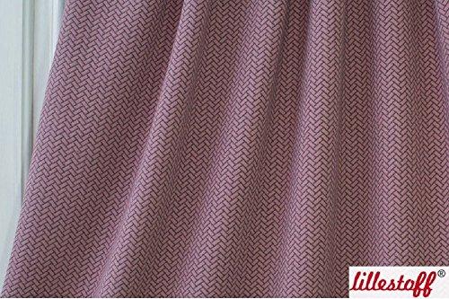 Lillestoff Stepper/Knitoptik / 4 Farben/Meterware / GOTS-Zertifiziert (Altrosa)