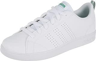 adidas Junior VS Advantage Clean Trainers in White Green