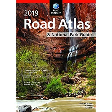 2019 Rand McNally National Park Atlas & Guide (Rand McNally Road Atlas)