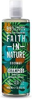 Faith In Nature Naturlig Kokos Schampo - 400 ml