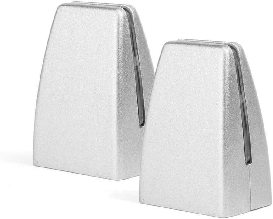 Creechwa 2 abrazaderas protectoras para estornudos, soporte divisor de escritorio de oficina, soporte de pantalla de partición de escritorio, abrazadera divisora de escritorio