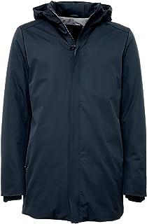 HOX chaquetón hombre plumón modelo xu3309Color Verde Botella Cremallera Capucha