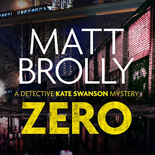 Zero audiobook cover art