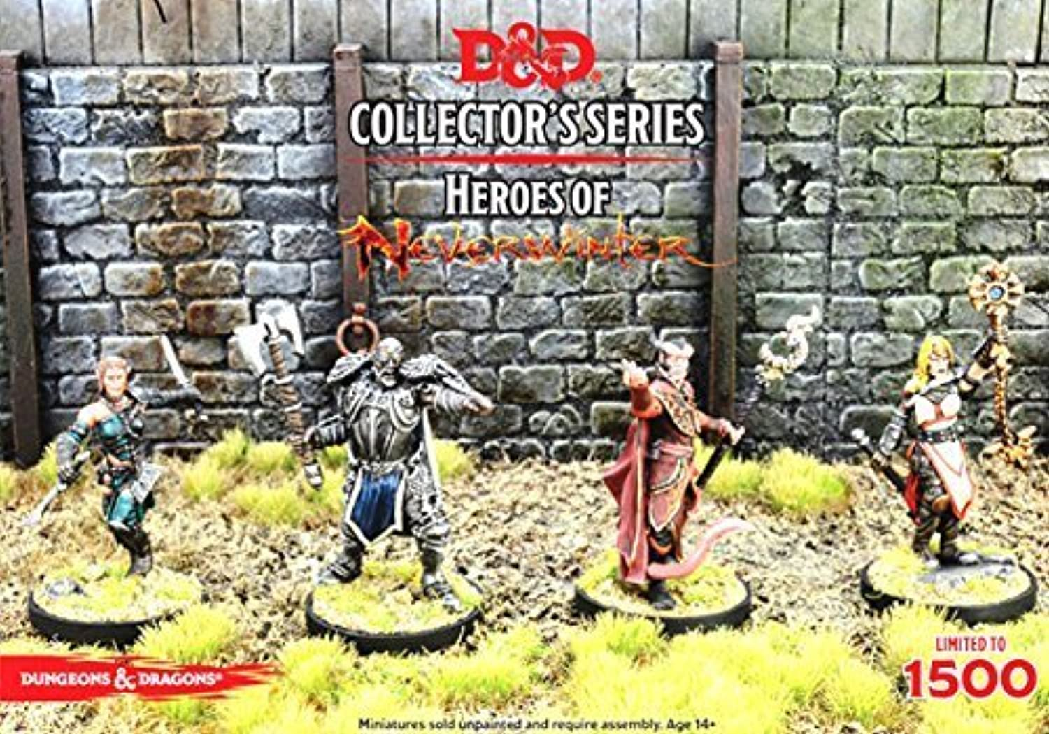 Dungeons & Dragons Collector's Series Heroes of Neverwinter GF9 71027 by Gale Force Nine