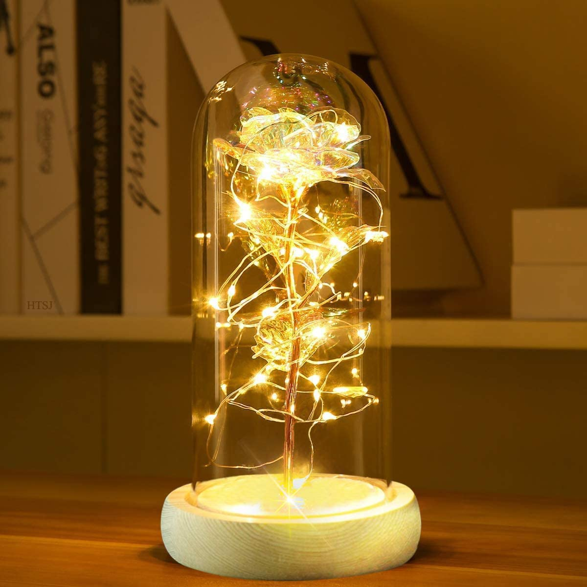 Colorful Artificial Flower Rose Gift on National products String 67% OFF of fixed price Colorf Led Light
