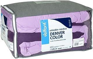 250 gr//m2 Cama de 135 Velfont Nordico Denver Duo 4 estaciones 220 ancho X 220 largo Dos edredones: 125 gr//m2