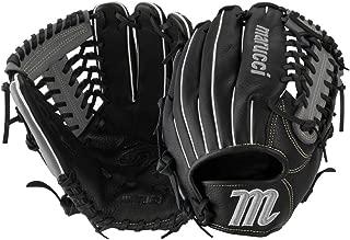 Marucci Oxbow Series 11.75 Inch Baseball Glove (Mfgox1175-Bk/Gy) Mod Trap.