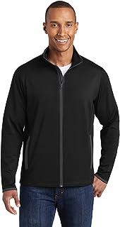 Men's Stretch Contrast Full-Zip Jacket