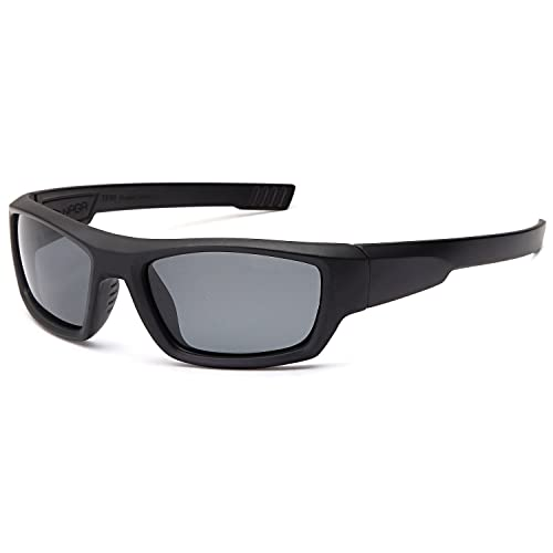 51d5d43885 NAGA Kids 6-14 UV400 Polarized Sports Sunglasses