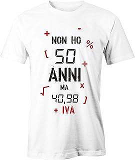 Idea Regalo Puzzletee T-Shirt Compleanno Donna Maglietta 70/° Compleanno Mi Ci Sono Voluti 70 Anni per Essere cos/ì Figa