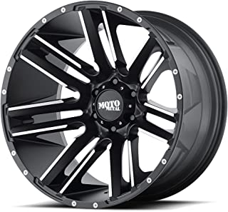 Moto Metal MO978 Razor Satin Black Wheel with Machined Finish (22x12/8x170, -44mm Offset)