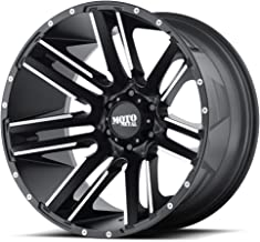 Moto Metal MO978 Razor Satin Black Wheel with Machined Finish (22x12/6x139.7, -44mm Offset)