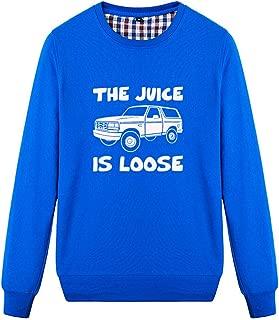 Buffaloo Unisex The Juice is Loose Funny Graphic Sweatshirt