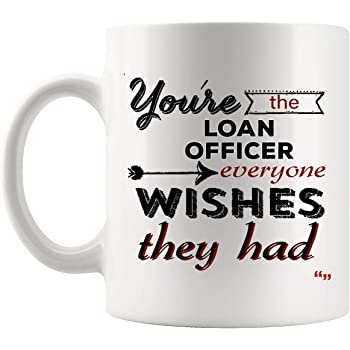 Thank You Loan Officer Mug Coffee Cup Officers Gifts for Men Women - Loans Mortgage Loan Originators Banker Thanksgiving Mugs For Office